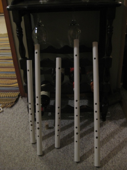 Repurposed PVC for Irish Flutes