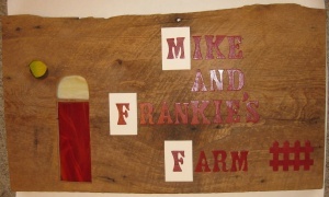 Repurposed Barn Sign